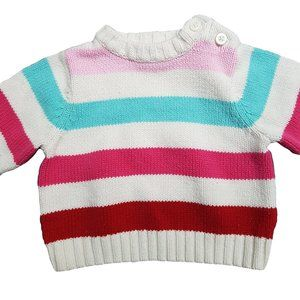 🍒3/20🍒CHILDREN'S PLACE Striped Knit Sweater 0-3m